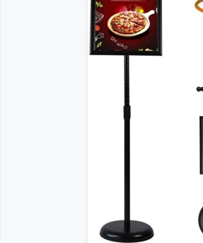 2-Pack specialty shop Adjustable Poster Sign Stand 8.5 Low price 11 Heavy Duty Inch X Pe