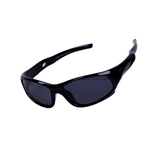 Qixuan Kinder Sonnenbrille TR90 Polarisierte Sportbrille für Jungen und Mädchen Alter 3-12, Rahmen Flexiblem Gumm,100{a3cd6d3116b5f68299c05e343f32591675a2de746bb230ffa376f45a02e2c6ae} UV-Schutz, mit Etui