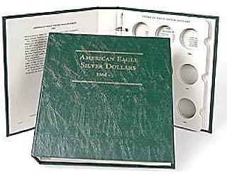 Littleton American Silver Eagles 1986-2014 Album LCA13 by Littleton Coin Company