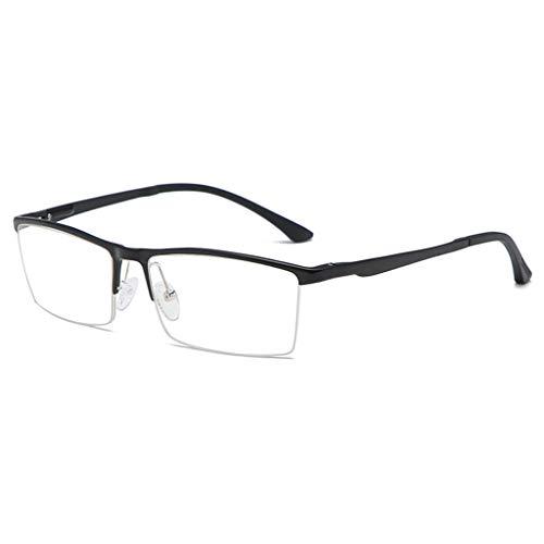 Zakelijke Anti-Blauw Licht Radiatie ultralichte Half Frame Anti Oogregen Comfortabele anti schittering bril voor computer monitor