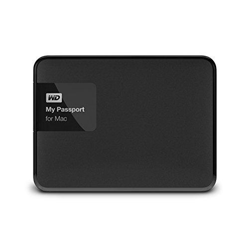 WD My Passport WDBCGL0020BSL-NESN - Disco Duro Externo portátil (2 TB, USB 3.0, para Mac)