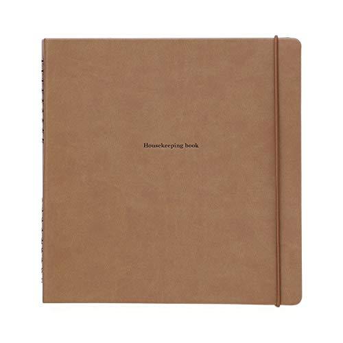 家計簿 ノート ハウスキーピングブック パヴォ ハイタイド HIGHTIDE 簡単 家計簿 ダークベージュ [CP014]