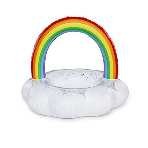 Piscina para Adultos Flotadores Anillo de natación Boya Inflable Natación Círculo Anillo de Goma Playa Piscina Pool Toys Photo Aparts para Mujeres (Color : White)