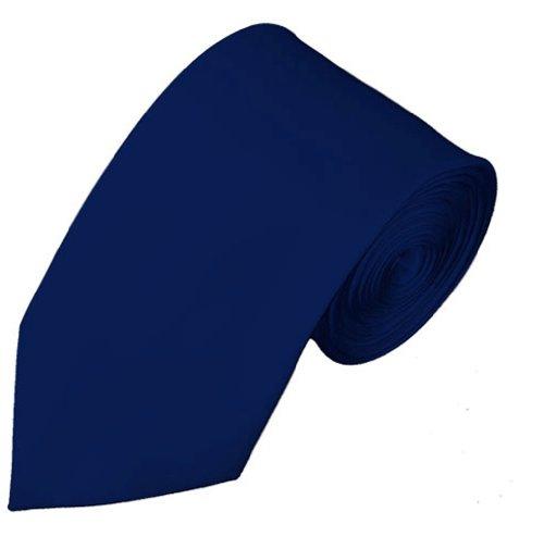 NYFASHION101 Cravate mince de 7 cm à couleur unie. Produit offert
