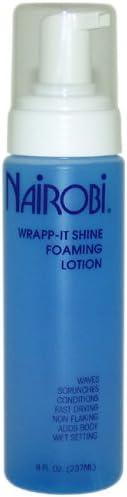 Nairobi Wrapp-It Shine Foaming Lotion, 8 Ounce
