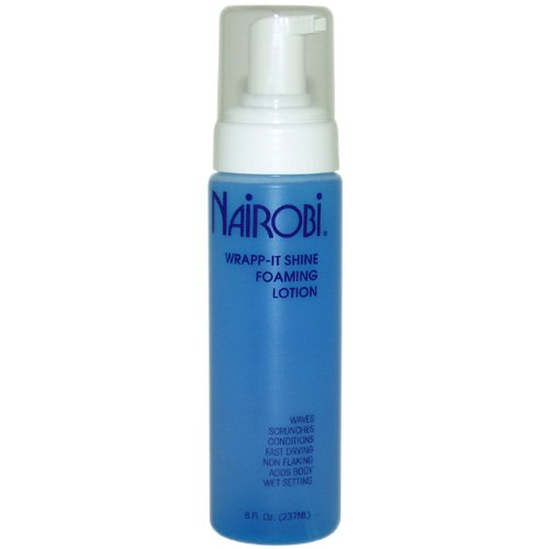 Nairobi Wrapp-It Shine Foaming Lotion, 8 Ounce