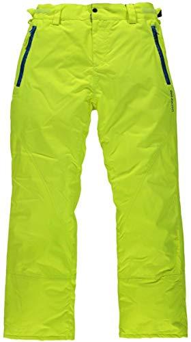 Brunotti Domany Men Ski-/snowboardbroek Special neon geel XXL