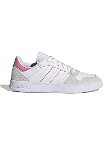 adidas BREAKNET Plus, Zapatillas Deportivas Mujer, FTWBLA/FTWBLA/Balcri, 40 2/3 EU