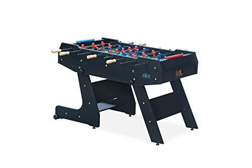 Kick Majesty 55″ in Folding Foosball Table (Black)