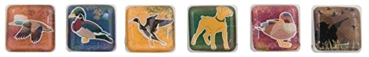 KAREN FOSTER Design Scrapbooking Chilly Cubes, Waterfowl, 12 x 12