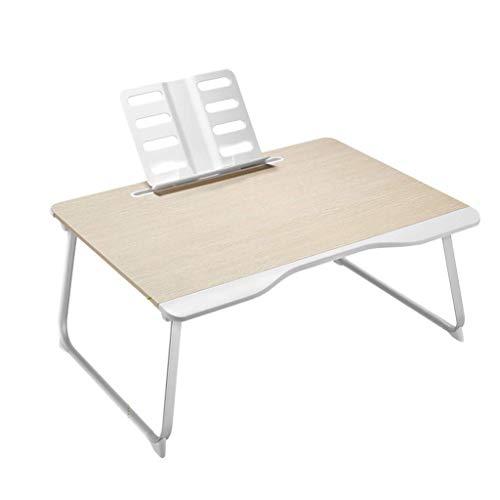 O&YQ Gateleg Tisch/Klapptisch Klapptisch Bett Laptop Tisch Faltbarer Home Schlafzimmer Erker Einfach und Praktisch 65 * 49 * 30Cm Lesen Board