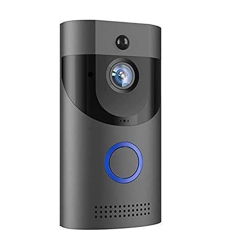 BAOZUPO Cámara del Timbre, Timbre de Puerta inalámbrico de la visión Nocturna de la cámara de la visión Nocturna de la Alarma del intercomunicador del vídeo 720P