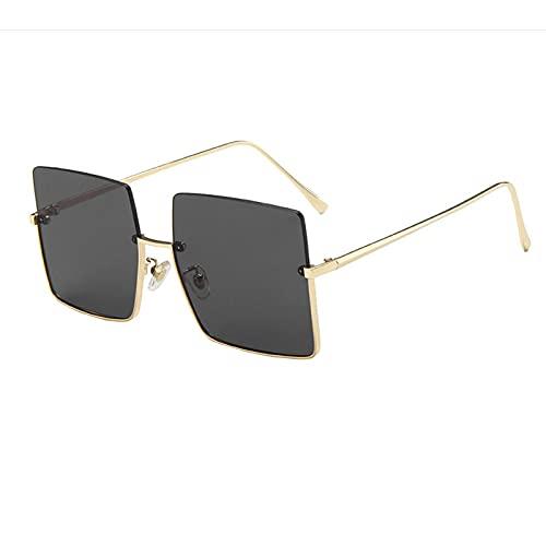 Ifoundyou Sonnenbrille, modern, geometrisch, Metall, schlanke Form, polarisiert, flach, sechseckig, für Damen und Herren Gr. Einheitsgröße, Mehrfarbig 134R.
