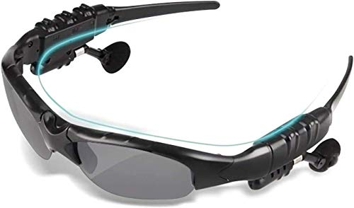 Bluetooth Sunglasses,VOVCIG Music Sunglasses Headsets Compatible to Listen Music and Make Phone Calls with Polarized Protection Safety Lenses,Unisex Design Sport Design for All Smart Phones