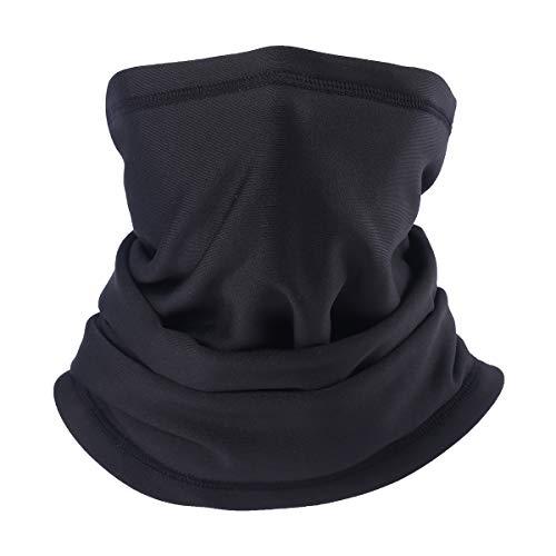 QKURT - Polainas para el cuello, para hombre y mujer en actividades de invierno al aire libre, transpirable, multifuncional