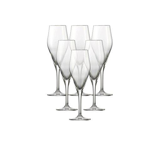 Schott Zwiesel Champagner Audience 77 MIT MP Champagneglas, Tritan Kristalglas, Transparente, 6.7 cm, 6