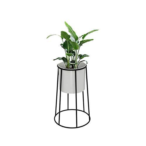 REUJKK Plant Stand, Round Flower Pot Stand, Metal Succulent And Plant Pot Holder, Minimalist Outdoor & Indoor Plant Holder