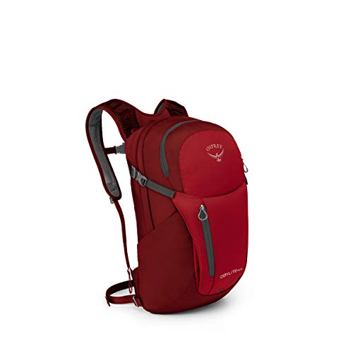 Osprey Packs Daylite Plus Daypack, Real Red