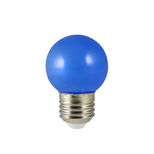 Bioledex LED-lamp E27 blauw Ø45mm buitenverlichting