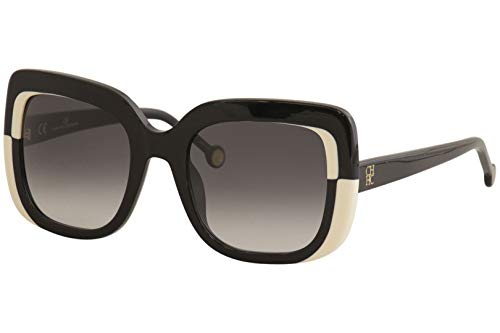 Carolina Herrera She786, Gafas De Sol Mujer, Shiny Black (0700)