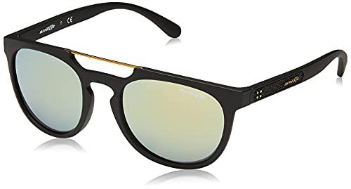 Arnette Woodward, Gafas de Sol para Hombre, Negro (Matte Black 01/8N), 52