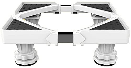 TabloKanvas - Base regolabile regolabile con 4 piedini resistenti, universale per il lavaggio (colore: bianco)