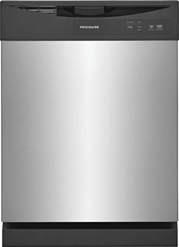 """FD-PC-4221-AS 24"""" Built In Dishwasher with 12 Place Settings, 5 Wash Level, Stainless Steel Food Disposer, Tall Tub Design, in Stainless Steel"""