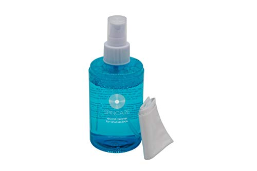 Vinyl Record Cleaner Solution by SPINCARE | 200ml (8oz)...