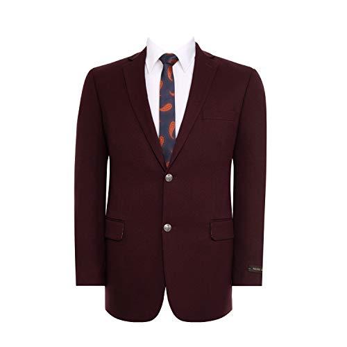 Mens Burgundy Sports Jacket