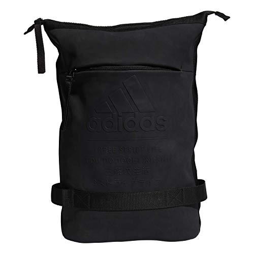 adidas Kultiger Premium-Rucksack, Unisex-Erwachsene, Rucksack, Iconic Premium Backpack, schwarz, Einheitsgröße