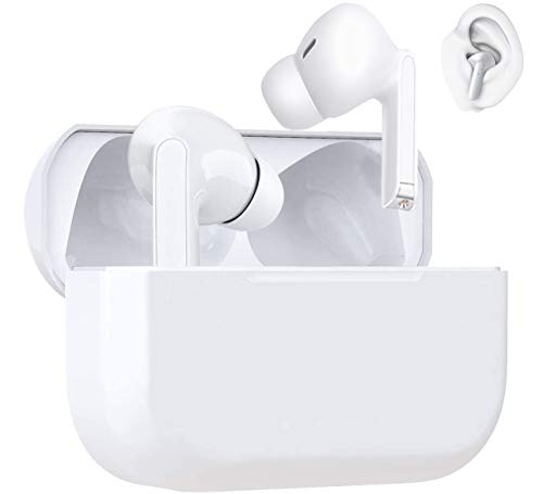 Auriculares inalámbricos Bluetooth 5.1,Auriculares Bluetooth con Control táctil Inteligente,Auriculares Deportivos Impermeables IPX6, 20 Horas,para iPhone/Samsung/Android AirPods Pro Apple Earbuds