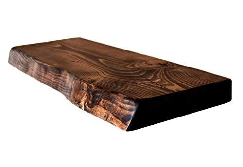 Chill House Waney/Live Edge rustieke wandplank 22 x 4,4 cm