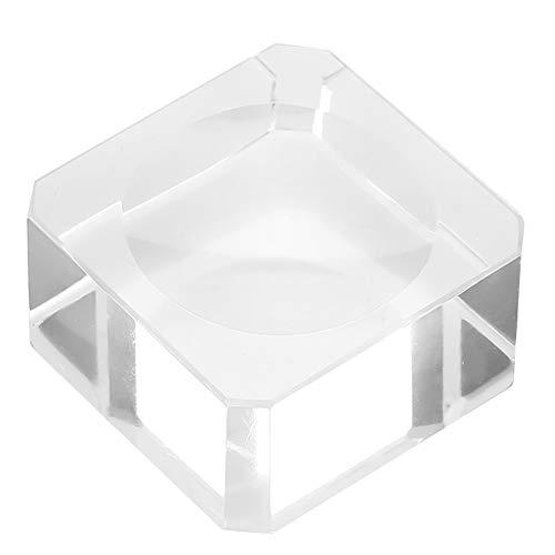 Soporte de pegamento de pestañas de vidrio Herramienta de extensión de pestañas...