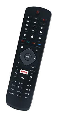 ALLIMITY 3986GR08 Reemplace el Mando a Distancia por Philips 4K UHD TV 49PUS6031/12 43PUS6031/12 55PUS6031/12 43PUS6031/12