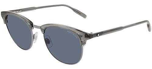Mont Blanc Hombre gafas de sol MB0083S, 004, 51