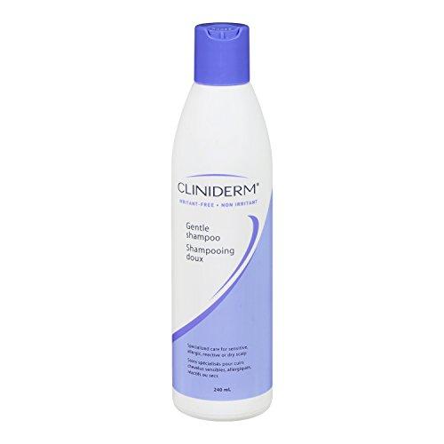 Cliniderm Neutral Ph Gentle Hair Care for Sensitive, Allergic, Reactive or Dry Scalp. (Hair Shampoo 240ml)