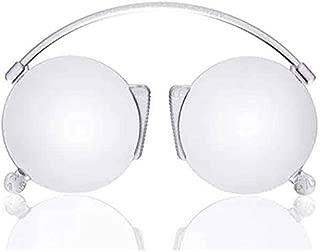 ORSAY BAMBU Gafas de Presbicia o Lectura para Hombre y Mujer Gafas con Filtro Anti Luz Azul sin Patillas Marco y Estuche de Bambu y Cristales Anti-reflejantes 5 Graduaciones Disponibles