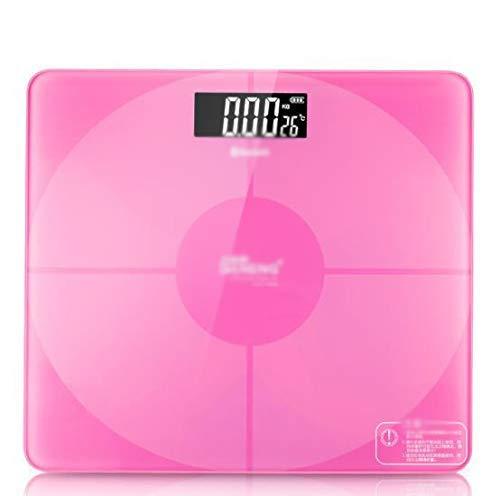 Elektronische weegschaal lichaam elektronische weegschaal huishoudelijke weegschaal accurate volwassen gezondheid wegen (Kleur: A) QIANGQIANG (Color : B)
