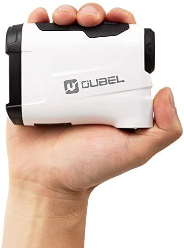 OUBEL Golf-Entfernungsmesser/Jagd-Entfernungsmesser, 800-Meter-Laser-Entfernungsmesser mit Neigungsberechnungsfunktion, Fahnenmastverriegelung, Vibration, kontinuierliche Messfunktion