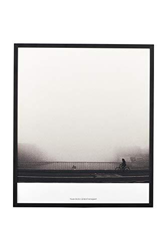 House Doctor Illustration mit Rahmen Places 01 by Anders Hvenegaard, schwarz, 28,2 x 31 cm