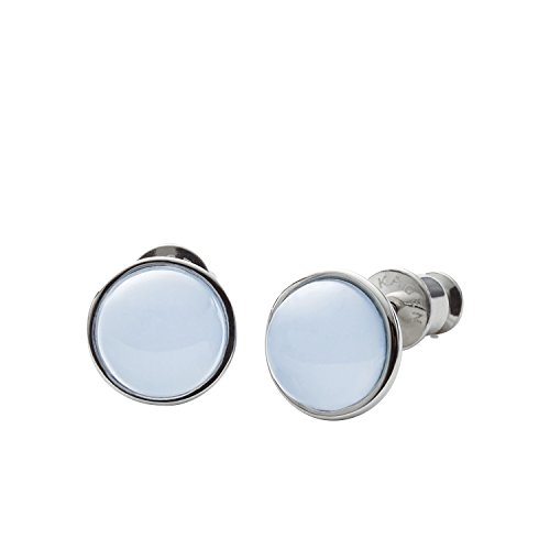 Skagen Sea Glass Silver-Tone Stud Earrings