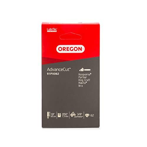 Oregon AdvanceCut 91PX Sägekette passend für 45 cm Bosch, Dolmar, Gardol, Greenworks, Matrix, Scheppach Motorsägen, 62 Treibglieder