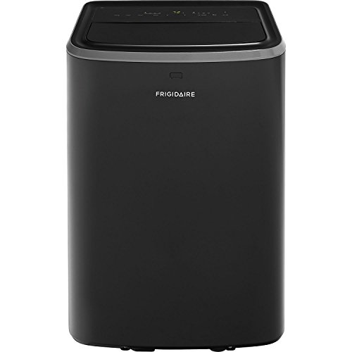 Frigidaire FFPA1222U1 Portable Air Conditioner with Remote Control for Rooms up to 550-sq. ft., 12,000 BTU, Black