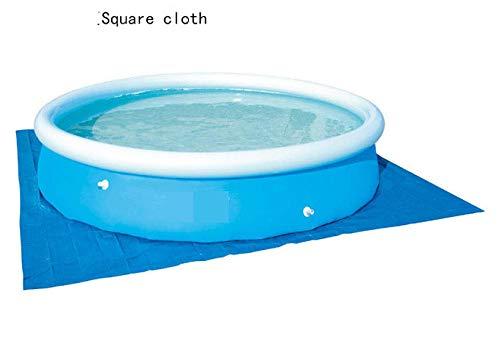 DAYUAN Piscine Gonflable familiale ,Tissu de Couverture de Piscine, Housse Anti-poussière de piscine-274 * 274cm,arrière-Cour Piscine Gonflable Enfant pataugeoire