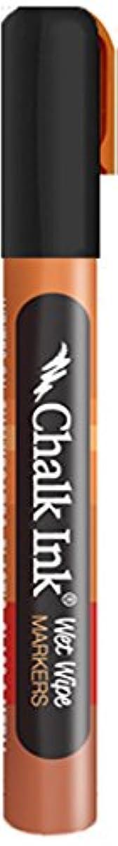 Chalk Ink Wet Wipe Marker, 6 mm, Jack Black