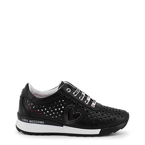 Love Moschino JA15082G17IA - Zapatillas para Mujer, Negro (Negro), 35 EU