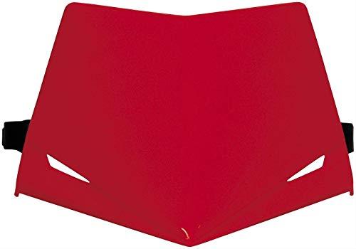 UFO - 41537 : Careta UFO homologada Stealth rojo PF01715-070