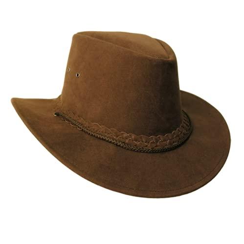 Chapeau d'été style australien avec bord étroit, protection solaire UPF + 50 - Multicolore - Small