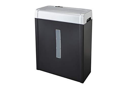 Dahle Aktenvernichter PaperSAFE 22017 (5 Blatt, Stufe P-4, Partikelschnitt, 12 Liter Papierkorb) schwarz-silber