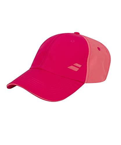 Babolat Basic Logo Cap Gorra, Unisex Adulto, Red Rose, Talla Única